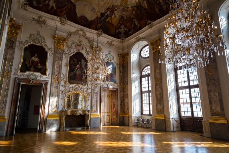 Barock im Fürstensaal.